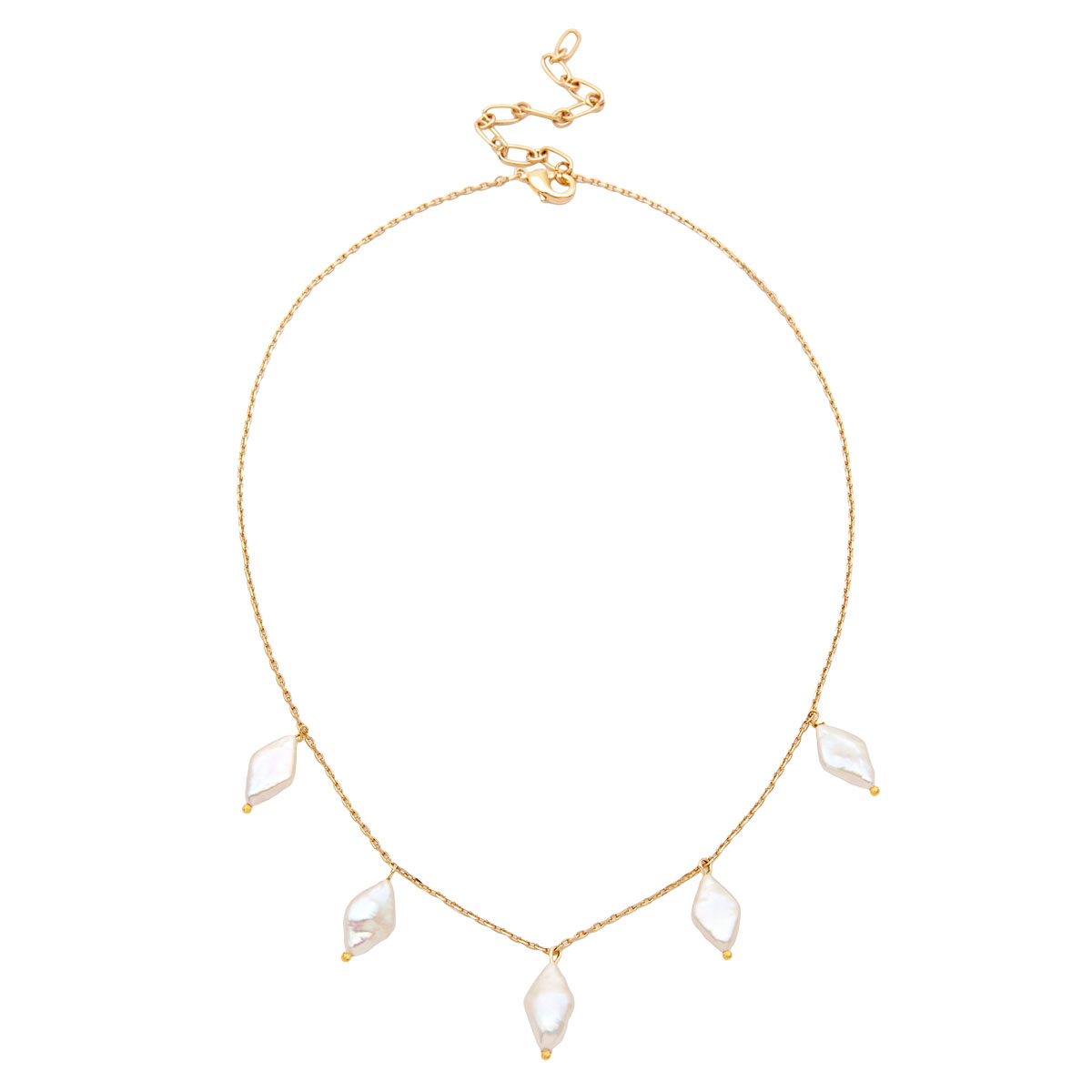 Amber Sceats Freshwater Pearl Malia Necklace