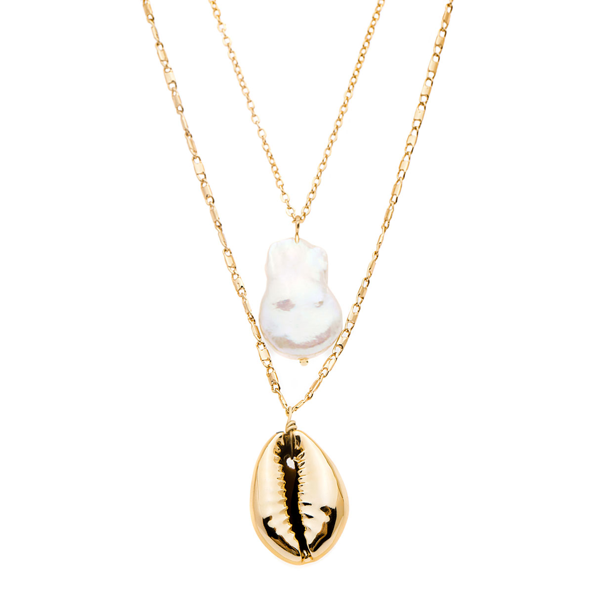 Amber Sceats Freshwater Pearl Molly Necklace